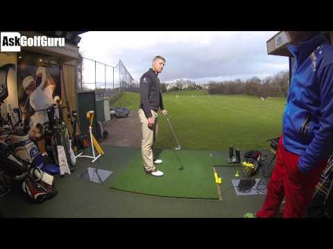 Live Golf Lesson Club Path Changed