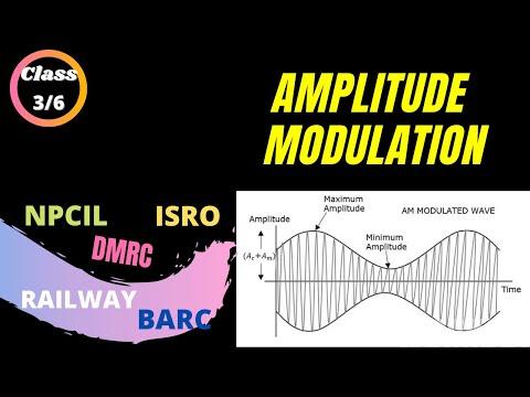 AMPLITUDE MODULATION 3    UPPCL    UPRVUNL TECHNICIAN  ELECTRONICS MECHANIC ONLINE CLASSES 2020