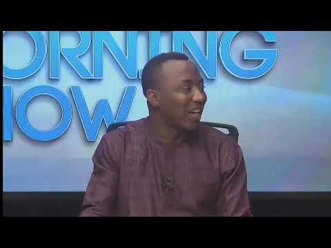 Sowore raises N73m in presidential campaign donations