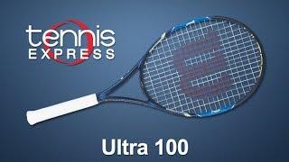 Ρακέτα τέννις Wilson Ultra 100 video