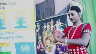 Танец с далекой Индии фестиваль йоги в Киеве, Киеве Мариинский парк, Посол Индии в Украине