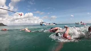 Feeding During 10km Open Water World Cup - Seychelles