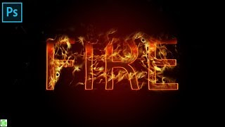 photoshop fire effect tutorial|Adobe Photoshop tutorial: Text on