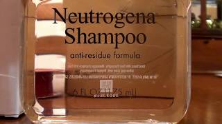 Neutrogena Anti- Residue Shampoo CLARIFYING Hair Buildup Remover