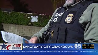 Justice Department Intensifying Crackdown On Sanctuary Cities