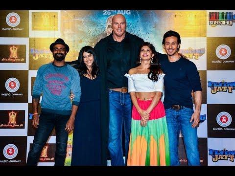 A Flying Jatt promotion by Jacqueline, Tiger shroff and Hrithik roshan
