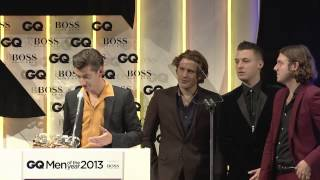 Arctic Monkeys - GQ Awards 2013 - Men Of The Year