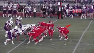 Trey Sheppard 2017 Football Highlights -  Salado High School