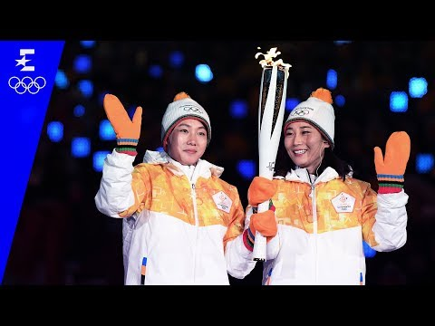 Highlights From The Opening Ceremony | Pyeongchang 2018 | Eurosport
