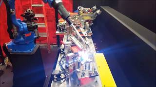 Acro automation mig welding cell