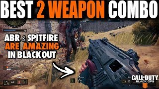 THE BEST 2 GUN COMBO TO WIN IN BLACKOUT BATTLE ROYALE | Call of Duty Black Ops 4 Blackout