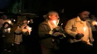 preview picture of video '2012-05-29 RIANO Fiaccolata. Sfila il popolo di Riano con le fiaccole'