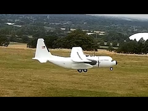 C-160 Cargotrans Twin Hercules RC Airplane from Banggood