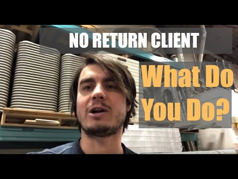 No Return - What Happens If A Client Doesn't Return Your Rental