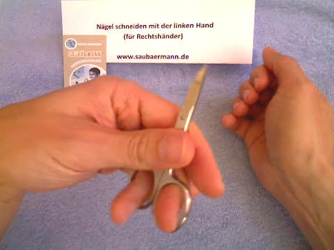 Der Nagel des Fingers des Beines gribok