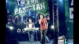 Lagan - Main Yaad Aaonga (Live @ Rock On Pakistan) 13.08.2009 Karachi