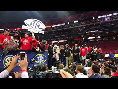 RAW:  Kirby Smart thanks UGA fans for their support