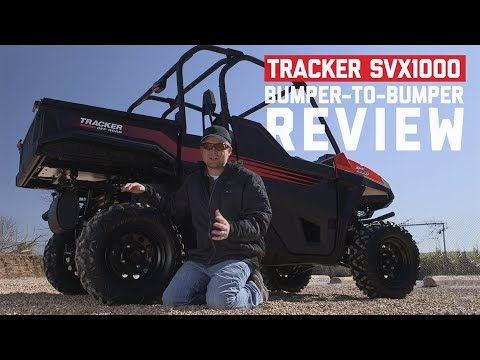 2021 Tracker Off Road SVX1000 in Eastland, Texas - Video 2