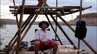 Ken Boyers Barge - Troop 1192 At Starvation