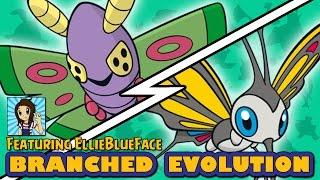 Beautifly  - (Pokémon) - Dustox vs Beautifly   Pokémon Branched Evolution (ft EllieBlueFace)