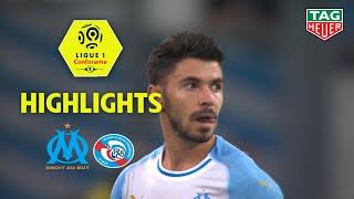 Olympique De Marseille - RC Strasbourg Alsace ( 3-2 ) - Highlights - (OM - RCSA) / 2018-19