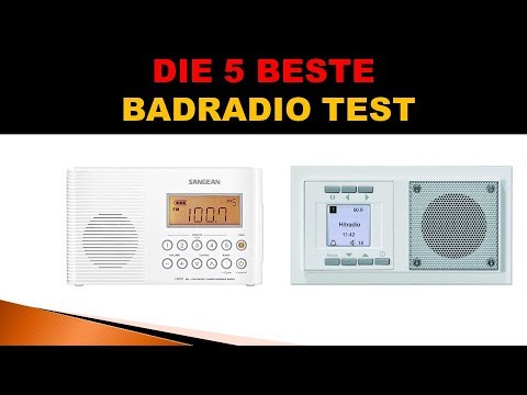 Beste Badradio Test 2019