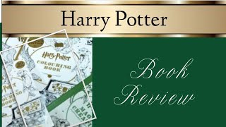 Harry Potter Colouring Book Series Review