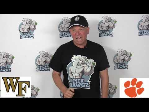 Clemson vs Wake Forest 11/16/19 Free CFB Pick and Prediction Week 12 College Football Tips