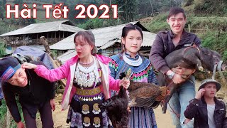 DTVN - HÀI TẾT 2020 | VÌ VỢ BỎ RƯỢU | Phim Tết Vùng Cao Hay Nhất 2020