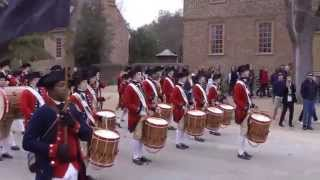 preview picture of video 'Colonial Williamsburg Fifes and Drums. Caden Cunningham's Graduation March.'