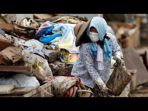 Ξεπέρασαν τους 200 οι νεκροί στην Ιαπωνία