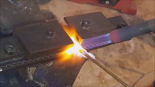 How to weld a Bandsaw blade without a welding machine by Mike Toulouzas.