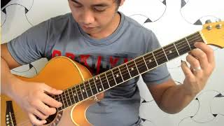 (TUTORIAL)Pagsuko - Guitar Fingerstyle - Jireh Lim  PART 1