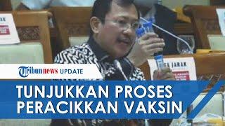 Ngotot Vaksin Nusantara Dilanjutkan, Terawan Tunjukkan Proses Peracikkan di Depan Komisi VII DPR RI