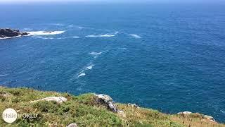 Aussicht bei der Illa de Vilar