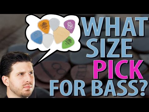 The Best PICK GAUGE for BASS - Online Bass Lessons