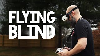 Blind Guy Tries To Fly A Drone Using FAT SHARK SCOUT FPV Goggles