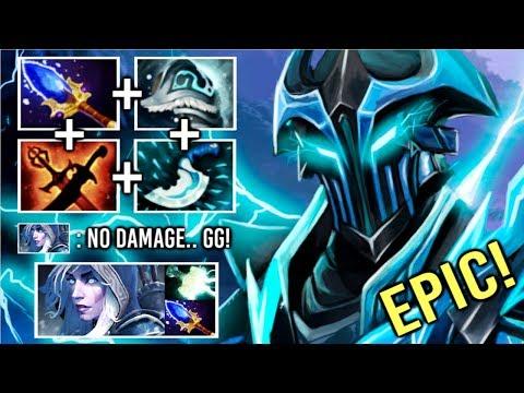 NEW CANCER HERO To COUNTER Drow Ranger Ez! Scepter Razor Mid Steal All DMG Top Rank Game 7.21 Dota 2