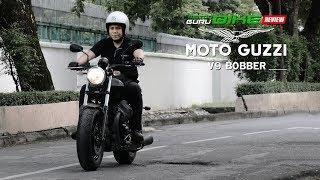 รีวิว Moto Guzzi V9 Bobber Italy Made ทรงพลังอีกขั้นกับบอบเบอร์ไบค์สไตล์กวนๆ