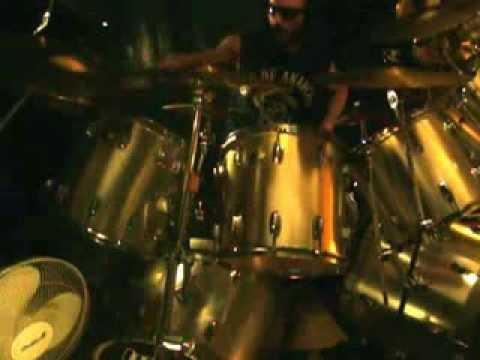 Joe jammin' on double-bass drums! 2/16/2014