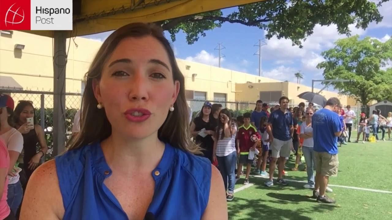 Jugadores de la Vinotinto recogieron insumos en Miami para niños en hospitales de Venezuela