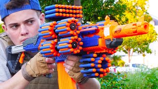 Nerf War: Million Subscriber Series