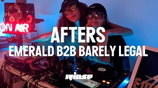 Barely Legal b2b Emerald - Live @ Afters At Emerald's Vol. 9 2020