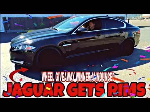 JAGUAR,IMPALA GETS RIMS WHEEL GIVEAWAY WINNER ANNOUNCED