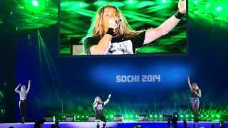 E-Type - Calling Your Name LIVE (Medals Plaza, Sochi)
