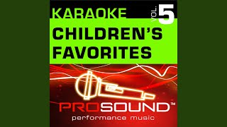 Green Grass Grows All Around (Karaoke Lead Vocal Demo) (In the style of Children's Favorites)