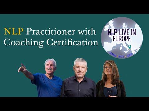 NLP Practitioner - Transforming people - September 2020