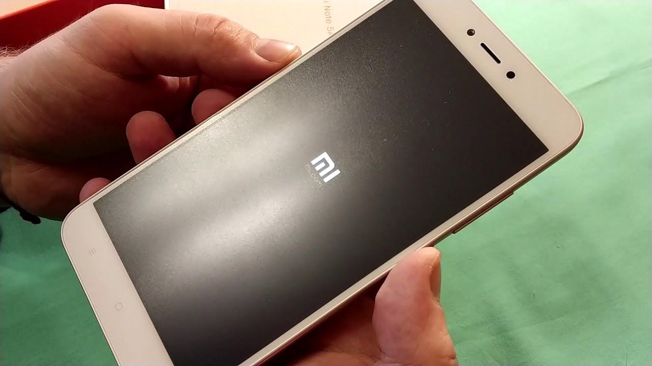 Видео Xiaomi Redmi Note 5A Rose Gold