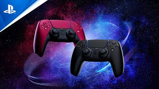 PlayStation DualSense Cosmic Red & Midnight Black Reveal Trailer | PS5 anuncio