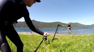 How To Self-Land your Kitesurfing Kite Using an Anchor